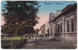 #2211- Ro, Marosujvar, Uioara c.p. scrisa necirc. 1924: Str. Kiraly - Razboieni, Ocna Mures, Necirculata, Fotografie