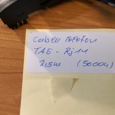 Cablu Telefon TAE - Rj11 2,5m (50004)