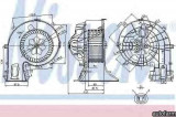 Ventilator aeroterma interior habitaclu OPEL VECTRA C Producator NISSENS 87049