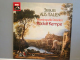 STRAUSS – FROM ITALY (SYMPHONIC FANTASY) - (1975/EMI/RFG)  - Vinil/Impecabil, emi records