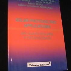 SOLAR PHOTOVOLTAIC-CATALIN C,TIN NEGREANU-, Alta editura