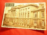 Ilustrata - Liege - Universitatea , cu Vigneta de 175 Ani Belgia 1932, Circulata, Fotografie