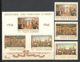 Romania.1968 Semicentenarul Unirii Transilvaniei  YR.448