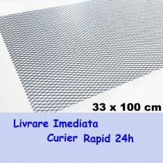Plasa Tuning Aluminiu culoarea Neagra tip FAGURE AL-TCT-2339