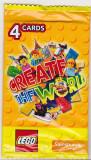 Bnk crc Cartonase de colectie - Lego - Salisbury`s - pachet sigilat x4 carduri