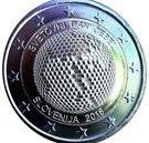 Slovenia 2 Euro 2018 - World Bee Day,   KM-New UNC !!!, Europa