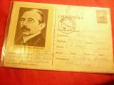 Carte Postala ilustrata- Personalitati - Victor Babes cod 417/1963, Circulata, Printata