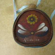 Plosca din lemn decorativa