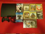 PlayStation 3, 320 Gb + 9 jocuri+camera