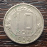 (M486) MONEDA RUSIA - 10 KOPEICI 1954, Europa