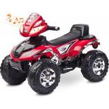 ATV Electric Toyz Quad Cuatro 6V Red, Rosu