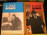 MEMORII-I. G. DUCA-4 VOL--ED. EXPRES+MACHIAVELLI-, Alta editura