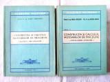 CONSTRUCTIA SI CALCULUL MOTOARELOR DE TRACTIUNE, 2 vol., Const. Manea, 1975/78