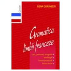 Elena gorunescu gramatica limbii franceze
