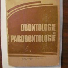 "PVM - Memet GAFAR si Constantin ANDREESCU ""Odontologie si Paradontologie"""