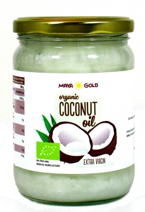 Ulei de Cocos Extravirgin Ecologic/BIO 450g/565ml - NVS-MG04 Pure Sensation foto mare