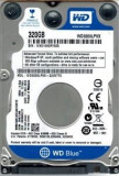 Hard disk notebook Western Digital Scorpio Blue SATA-II/III 320GB 5400, Western Digital