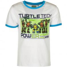 Tricou copii Testoasele Ninja, Turtles Ninja, alb , 3,4,6 ani/98,104,116cm, 2-3 ani, Multicolor, Unisex