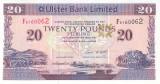 Bancnota Irlanda de Nord ( Ulster Bank Limited ) 20 Pounds 2007 - P342a aUNC
