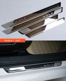 Ornamente inox praguri (8 modele) -VW Golf, Passat / Skoda Octavia etc