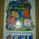 Literatura pentru copii Clasele III-IV-a, Marcela Penes