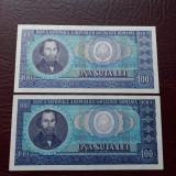 Lot 100 lei 1966 Romania