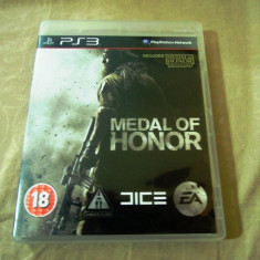 Joc Medal of Honor original, PS3!, Actiune, 18+, Single player, Ubisoft