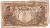 ROMANIA 2000 LEI 2 MAI 1944 U