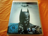 Joc Batman Arkham Origins original, PS3! Alte sute de jocuri!, Actiune, 18+, Single player, Ubisoft