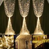 Ghirlanda decorativa, 400 LED-uri, 10 m, lumina statica, interior/exteriror, Home