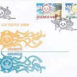 ROMANIA 2004 LP 1638   EUROPA 2004 - VACANTA   FDC, Stampilat