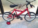 """Sky Jumper / Red / bicicleta copii 16"""" (6-8 ani)"""