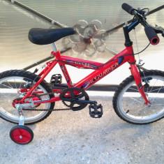 """Sky Jumper / Red / bicicleta copii 16"""" (6-8 ani), 1"""