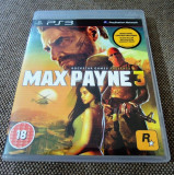 Joc Max Payne 3, original, PS3! Alte sute de jocuri!, Actiune, 18+, Single player, Rockstar Games