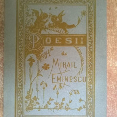 Mihai Eminescu - Poesii {Retiparirea primei editii}