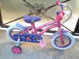 """Dora / bicicleta copii 12"""" (2-5 ani)"""
