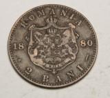 2 bani 1880 Eroare - dubla batere