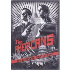 DVD serial: The Americans - seria 1 ( 4 discuri - subtitrare engleza, franceza )