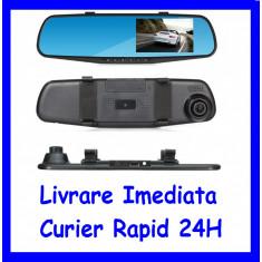 Monitor 4inch tip oglinda cu camera frontala DVR  F1-49