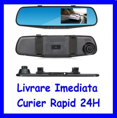 Monitor 4inch tip oglinda cu camera frontala DVR  F1-49 foto