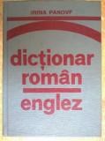 Irina Panovf - Dictionar roman-englez