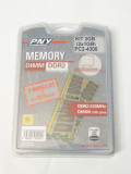 Kit 2 Gb memorie PC DIMM DDR 2 PC2 4300 2x1 Gb DDR 2 533 MHz PNY sigilat, Dual channel