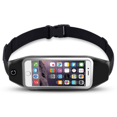 Borseta brau husa telefon pt alergat iPhone 6 7 Plus Samsung S7 Edge S8 S8 Plus foto