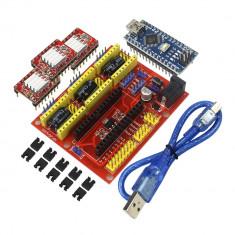 3D CNC Nano 3.0 cu cablu USB A4988 Stepper kit CNC Imprimanta 3D