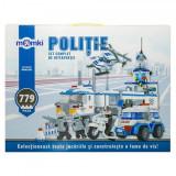 Set constructie MomKi tip Lego Vehicule interventie 779 piese