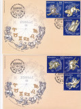 ROMANIA 2011  LP 1900  ZODIAC I  FDC, Stampilat