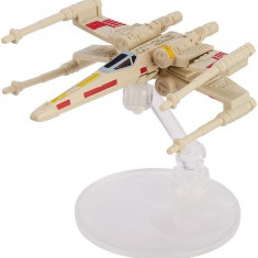Jucarie Hot Wheels Star Wars Starships X-Wing Fighter Red Five, Mattel