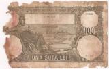 ROMANIA 100 LEI MAI 1932 U