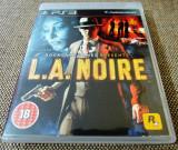 Joc LA Noire, original, PS3! Alte sute de jocuri!, Actiune, 18+, Single player, Rockstar Games
