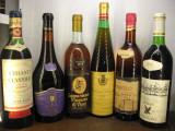 6 sticle vin -VECHI DE COLECTIE-LOT( C ) recoltare 1961/1979/1980/1981/1975/1977, Sec, Rosu, Europa